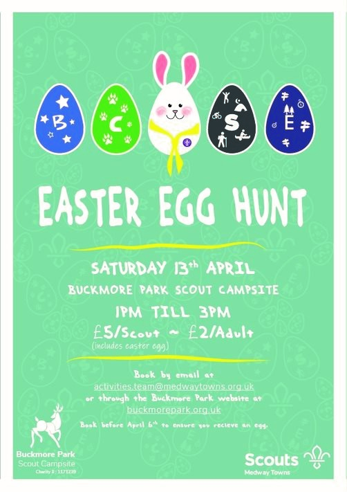 Easter Egg Hunt 13th April 2019
