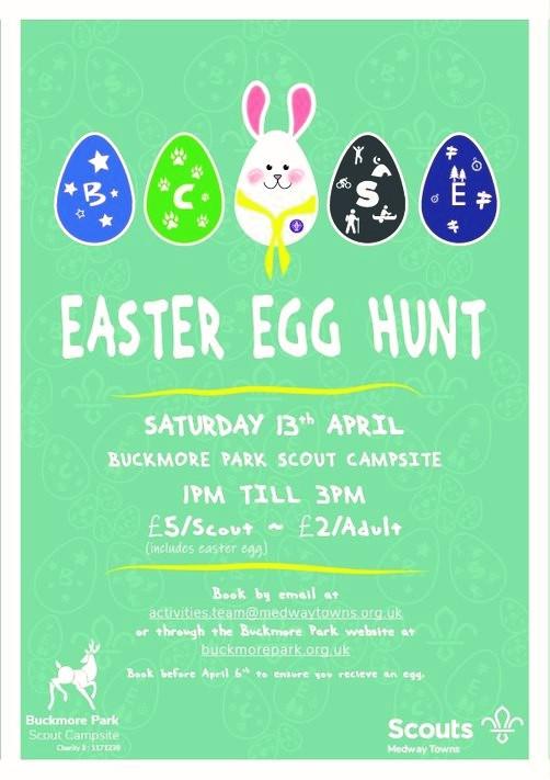 Easter Egg Hunt 13th April 2019