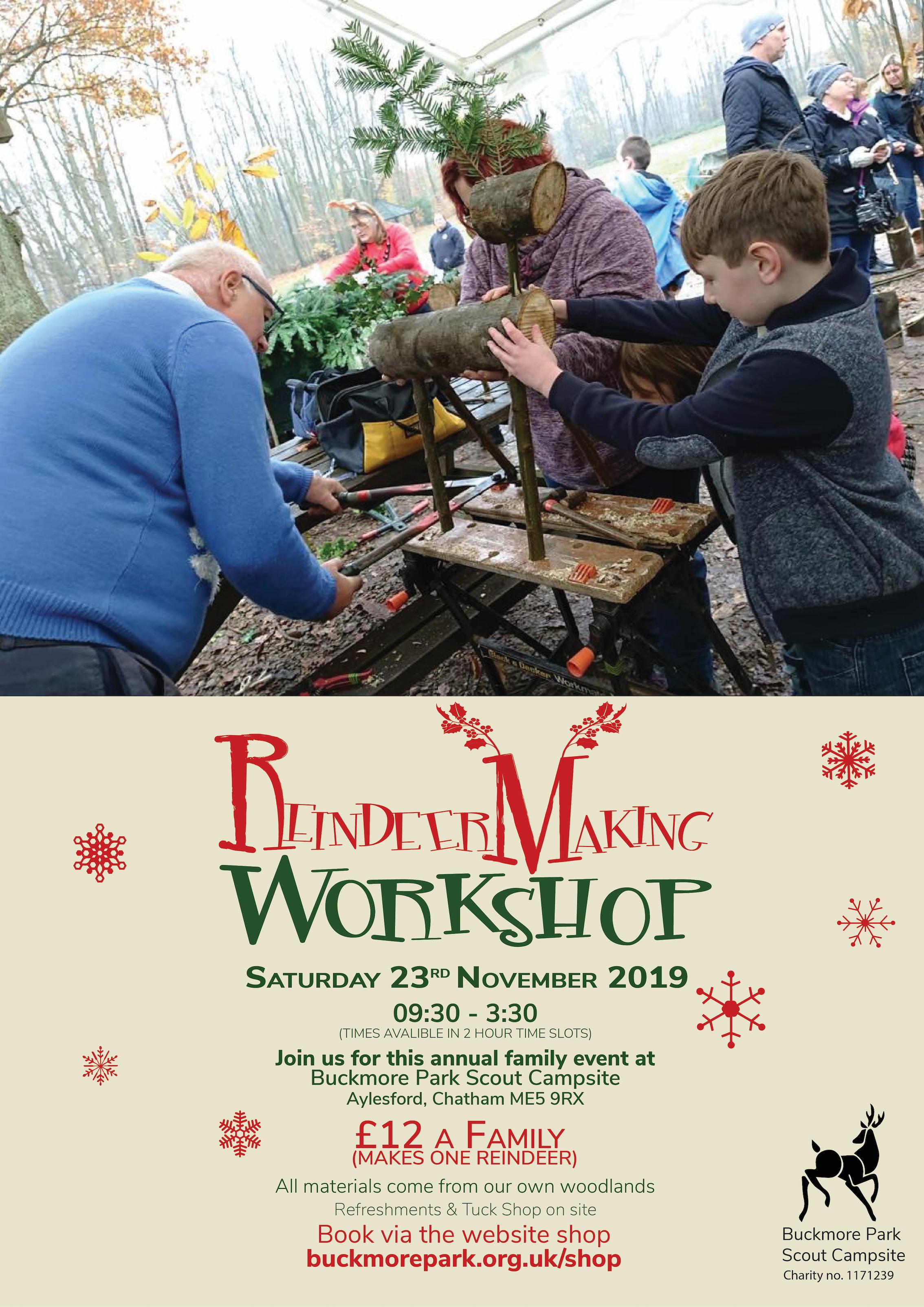 Reindeer Workshop